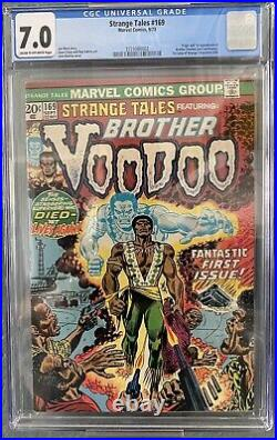 Strange Tales #169 (Marvel, 1973)(CGC 7.0). First Appearance of Brother Voodoo