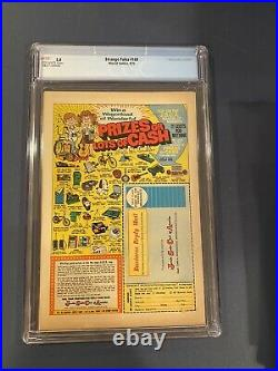 Strange Tales #169 (Sep 1973, Marvel) CGC 5.0 1st Brother Voodoo Off White Pages