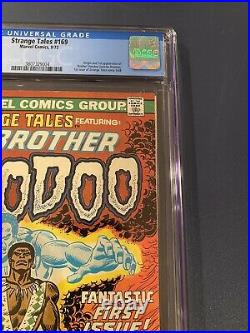 Strange Tales #169 (Sep 1973, Marvel) CGC 6.0 White Pages 1st Brother Voodoo