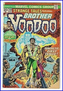 Strange Tales #169 (VG) 1st App Of Brother Voodoo 1973 Marvel Comics Dr. Strange