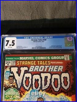 Strange Tales #169 White Pages, 1st Brother Voodoo, Dr Strange Movie Soon