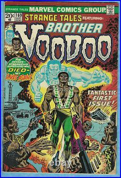 Strange Tales # 169, start origin / 1st full Brother Voodoo comic, 3.5VG