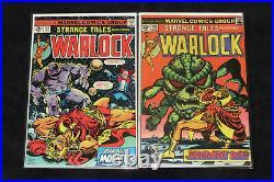 Strange Tales 178 179 180 181 1st Gamora Warlock Pip Starlin Marvel Lot 110 169