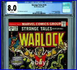 Strange Tales #178 CGC 8.0 1975 Warlock Marvel Comics 1st Magus k8