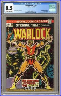 Strange Tales 178 (CGC 8.5) Warlock begins 1st app. Magus Jim Starlin (j#6770)