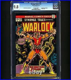 Strange Tales #178 CGC 9.8 1st Magus Warlock Begins LAST SALE $9600 RARE Marvel