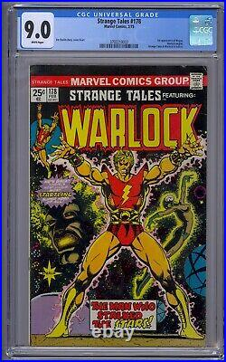 Strange Tales #178 Cgc 9.0 1st App Magus Warlock Begins
