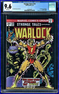 Strange Tales #178 Cgc 9.6 Warlock Begins 1st App Of Magnus Cgc #2075343001