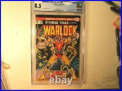 Strange Tales # 178 Graded By Cgc As 8.5(vf+), 1st. Appearance Of Magus, Plu S