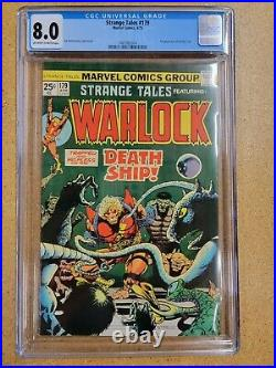 Strange Tales #179 CGC 8.0 1st Appearance of Pip the Troll Marvel Eternals