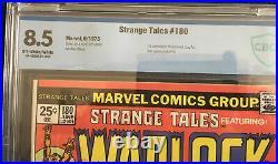 Strange Tales 180 CBCS 8.5 1st app. Of Gamora Warlock appearance/cover