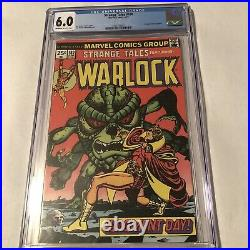 Strange Tales 180 CGC 6.0 OWithW 1975 First Appearance Of Gamora