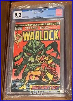 Strange Tales #180 CGC 9.2 1st Appearance Gamora 1975 Marvel White Pages Starlin