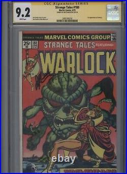 Strange Tales #180 CGC 9.2 SS Jim Starlin 1975 1st appearance of GAMORA