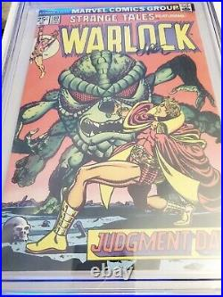 Strange Tales #180 CGC 9.4 NM 1975 1st app Gamora Signed Jim Starlin GOTG