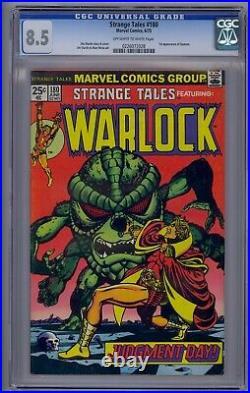 Strange Tales #180 Cgc 8.5 1st Gamora