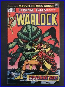 Strange Tales 180 First Printing Comic Book 1st Appearance Avengers GOTG Gamora
