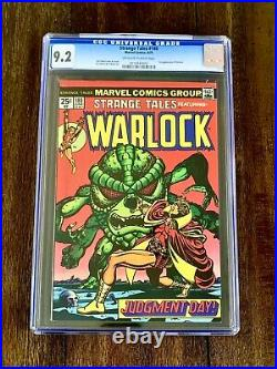 Strange Tales #180 (cgc 9.2) 1st App Of Gamora (1975)