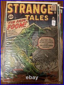 Strange Tales #89 (1961) First Fin Fang Foom