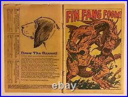 Strange Tales #89, 1st Appearance of FIN FANG FOOM, G/G-, SHANG CHI MCU Movie
