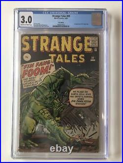 Strange Tales #89 CGC 3.0 1st Appearance Of Fin Fang Foom UK variant SHANG-CHI