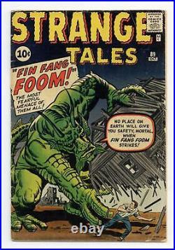 Strange Tales #89 GD 2.0 1961 1st app. Fin Fang Foom