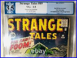 Strange Tales #89 (Oct 1961, Marvel) PGX 3.5 1st Appearance of Fin Fang Foom