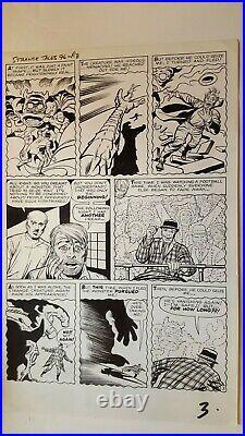 Strange Tales # 96 Doom Monster First Story Marvel 1962 Jack Kirby Ayers Pg 3