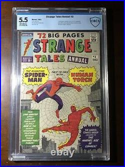 Strange Tales Annual #2 (1963) 1st Spider-Man Crossover! (Not CGC) CBCS 5.5