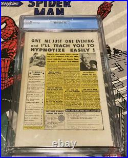 Strange Tales Annual #2 CGC 7.0 Marvel 1963 Spider-Man! 1st Crossover