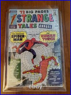 Strange Tales Annual #2 Gd 1963 1st Crossover Jack Kirby Ditko