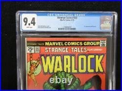 Strange Tales featuring Warlock #180 1st Gamora 1975 CGC 9.4 FREE SHIPPING