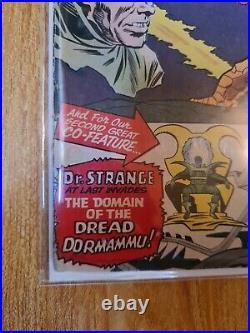 Strange tales #126 1st app of dormammu huge DR STRANGE key! 3.0